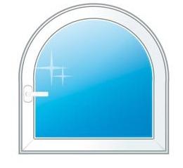 Изготовление стеклопакетов арочной формы